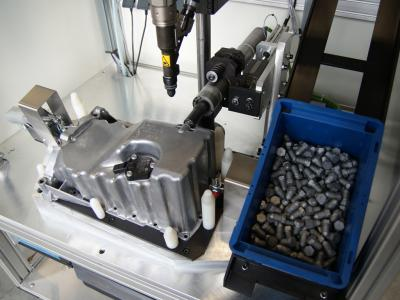 <p>Schraubsysteme für Ölablass und Sensor</p>